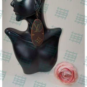 Authentic Louis Vuitton Monogram Earrings